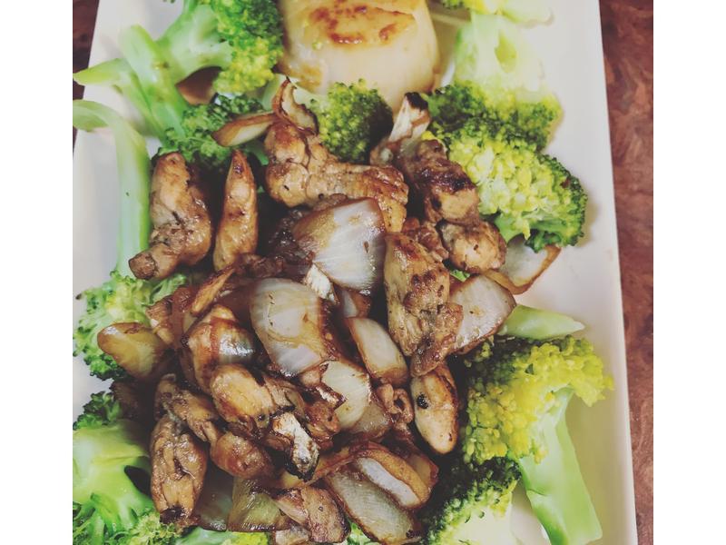 洋蔥醬炒雞