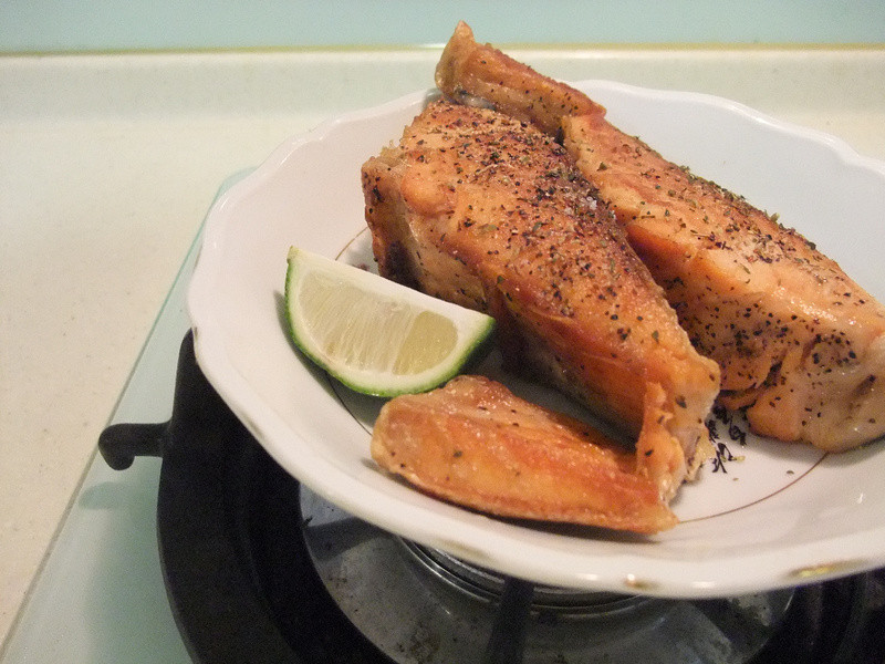 義大利香煎鮭魚