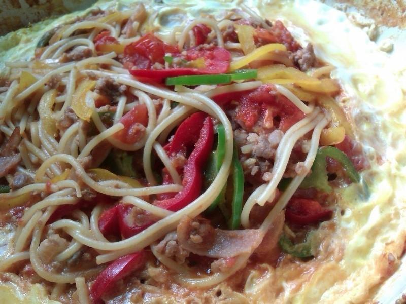十分輕鬆料理DIY-名古屋風鐵板拿坡里義大利麵
