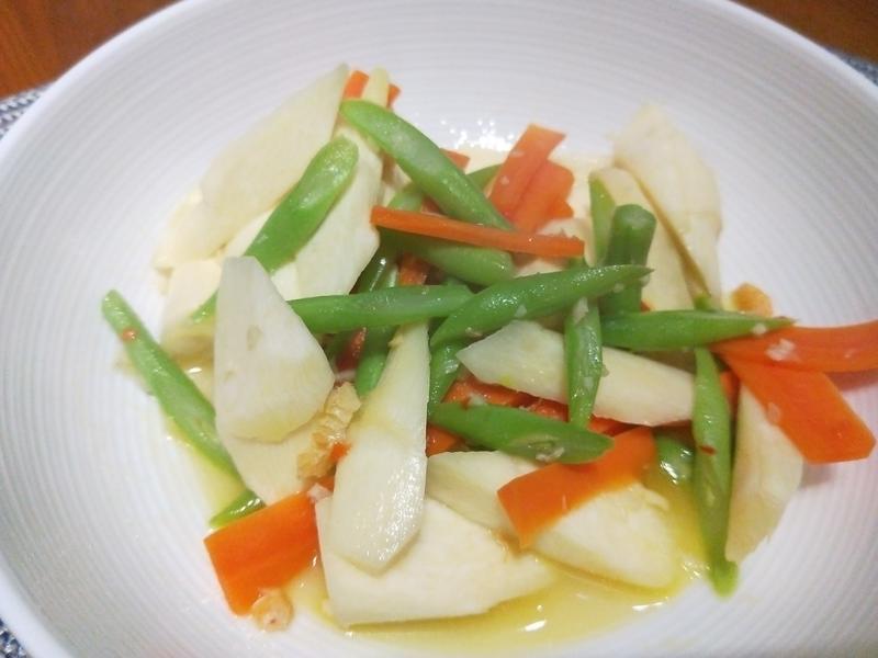 蝦米炒筊白筍時蔬