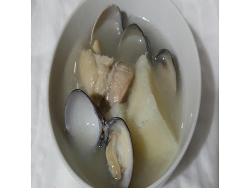 山藥蛤蜊雞湯