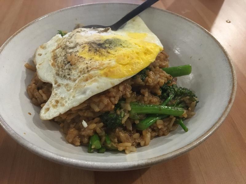 咖喱花椰菜燉飯