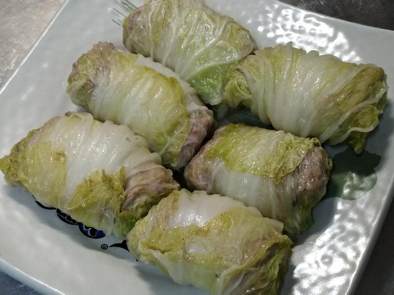 白菜牛肉捲