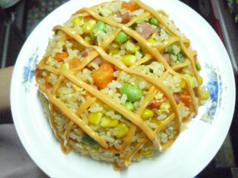 十分輕鬆料理DIY♫千島蝦仁蛋炒飯