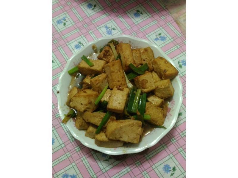 青辣椒豆腐