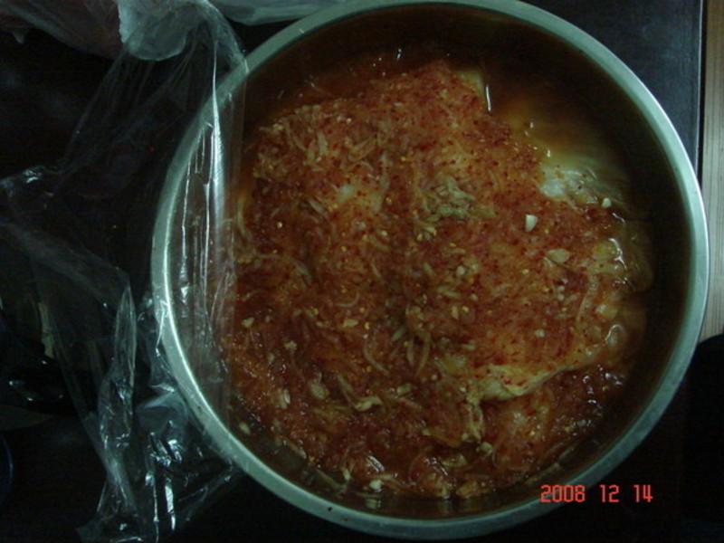 醃韓式泡菜