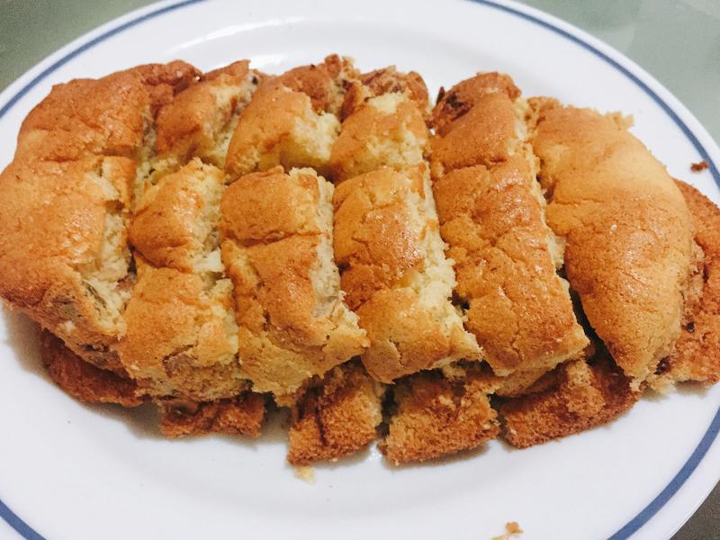姙娠糖尿可以吃的香蕉堅果蛋糕
