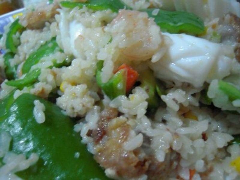 十分輕鬆料理DIY-蝦仁炒飯