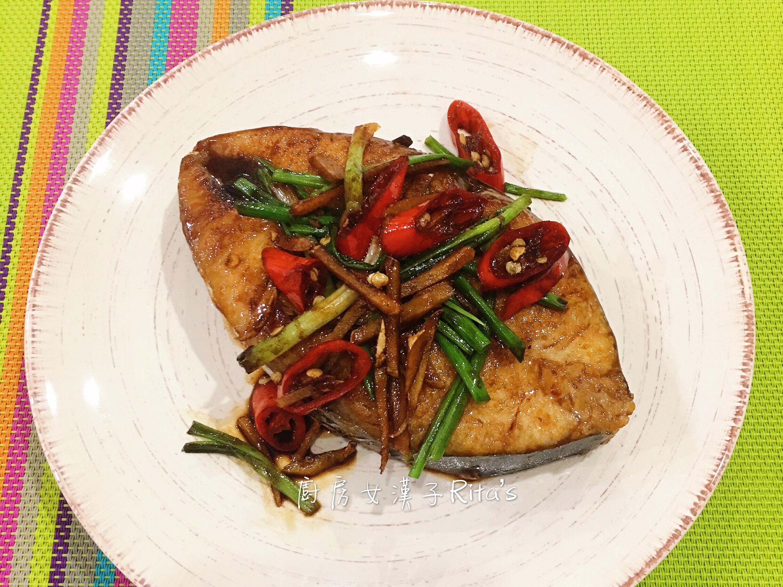 醬煎土魠魚