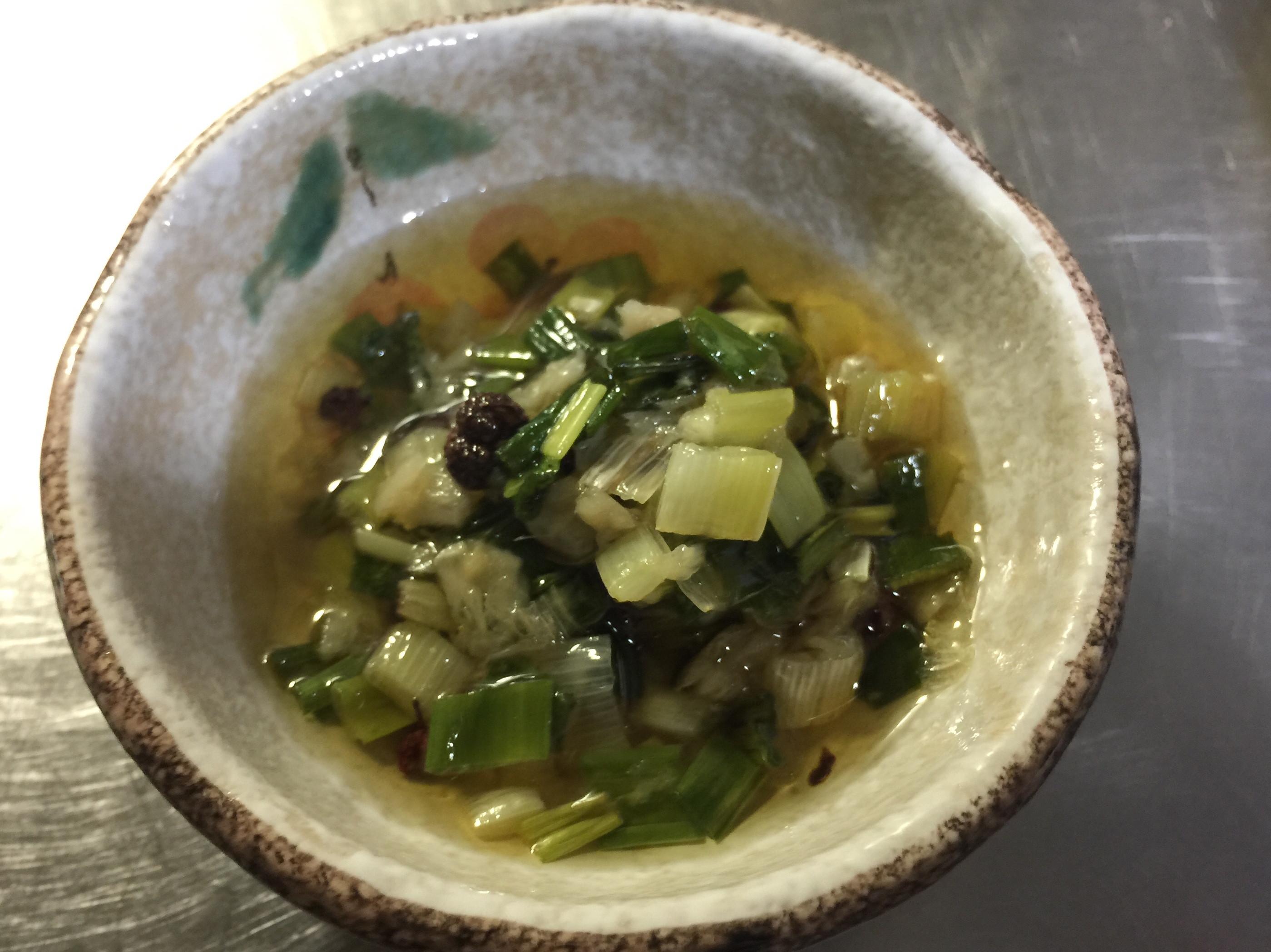 花椒拌蔥油百搭料理