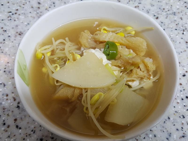 (韓式) 明太魚干湯 북엇국