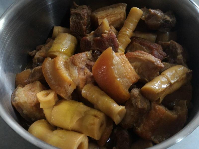 下飯菜~筍尖燒肉