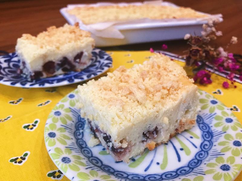 蔓越莓酥頂起士蛋糕