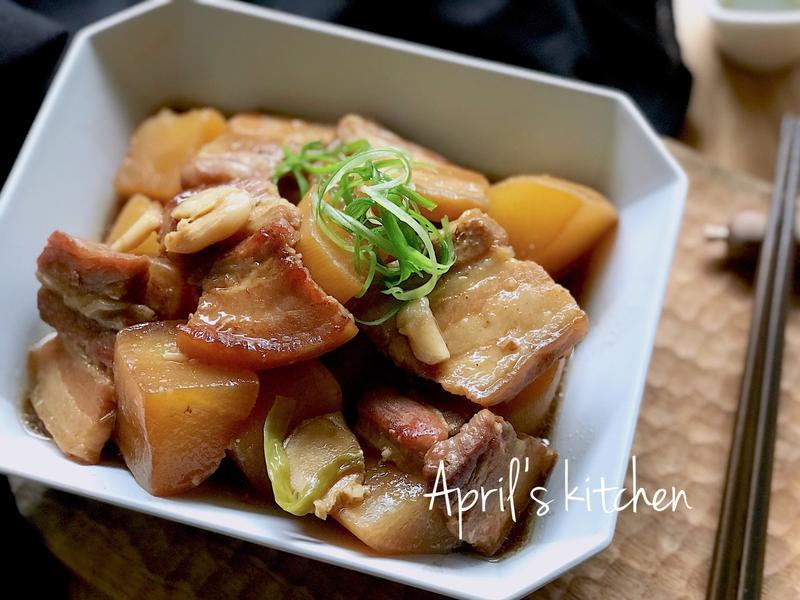 蘿蔔燒肉輕鬆煮(電子鍋)
