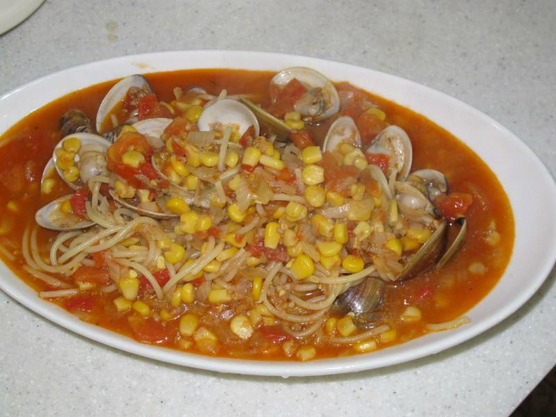 十分輕鬆料理DIY:蛤蠣燉菜義大利麵