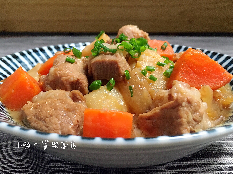 味噌馬鈴薯燉肉 【一鍋到底】