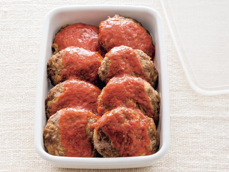 東販小食堂:美味減醣料理之蕈菇漢堡排