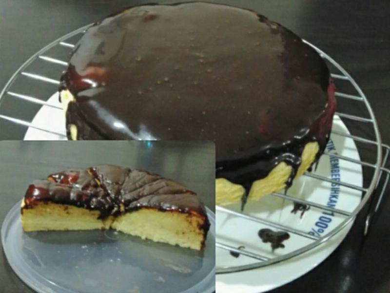 古典原味蛋糕巧克力酱