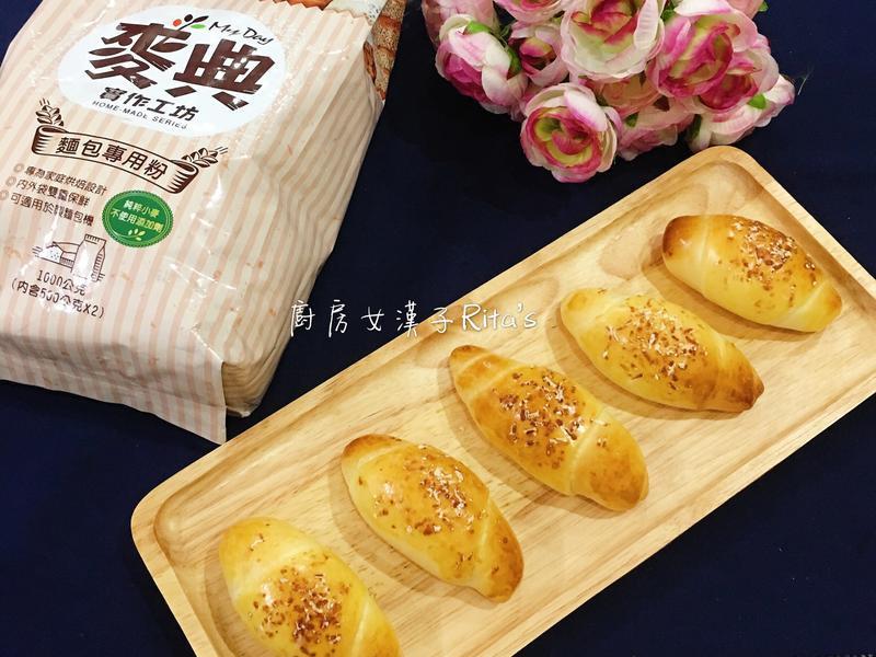 煙燻起司麵包捲【麥典麵包專用粉】