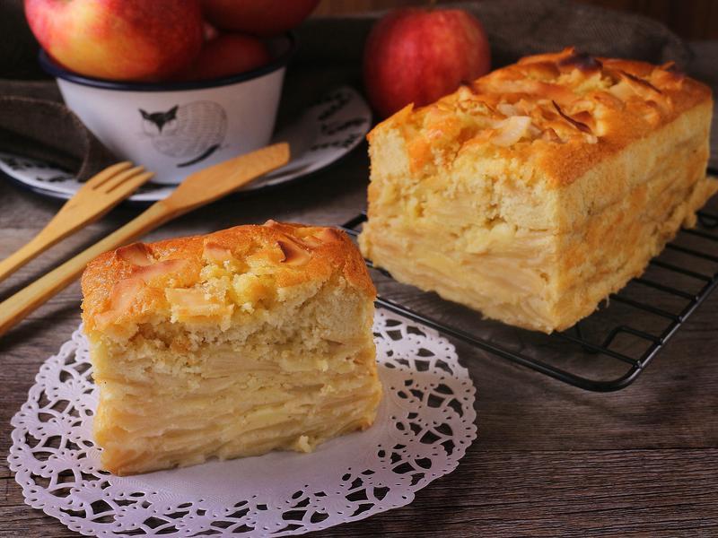 隱形蘋果蛋糕「免泡打粉」