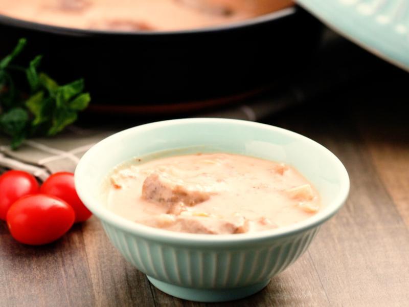 聖女蕃茄米濃湯