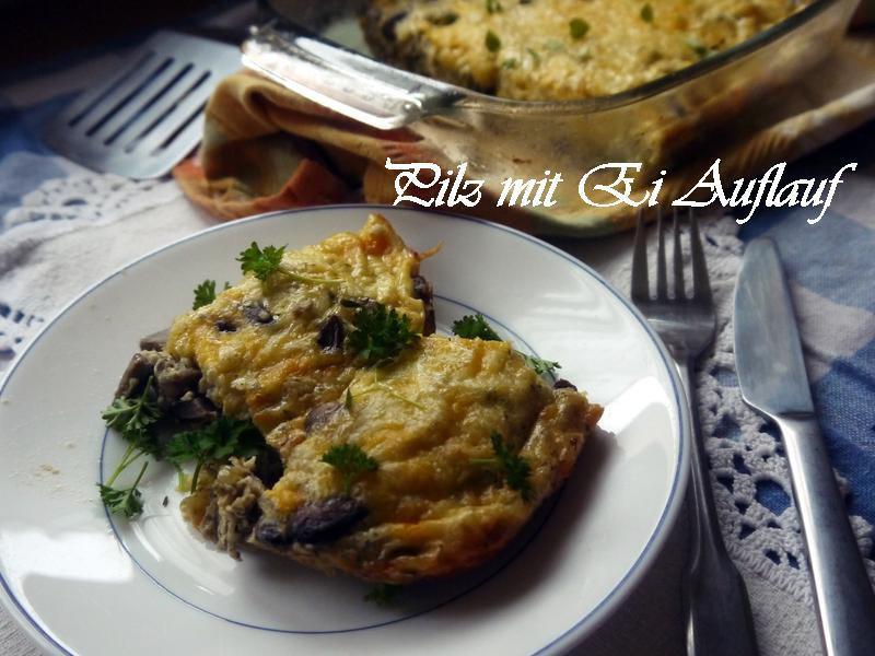 焗烤蛋蘑菇