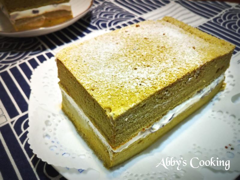 抹茶紅豆生乳蛋糕