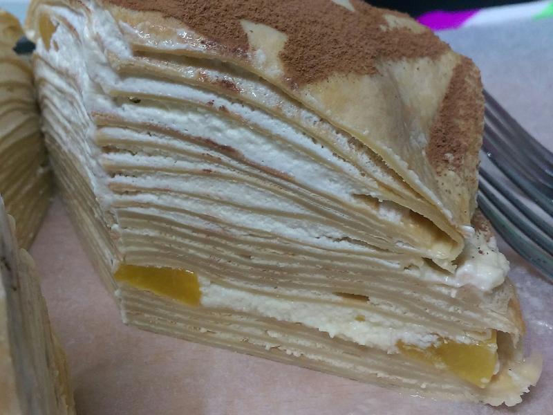 蜜桃千層蛋糕🎂