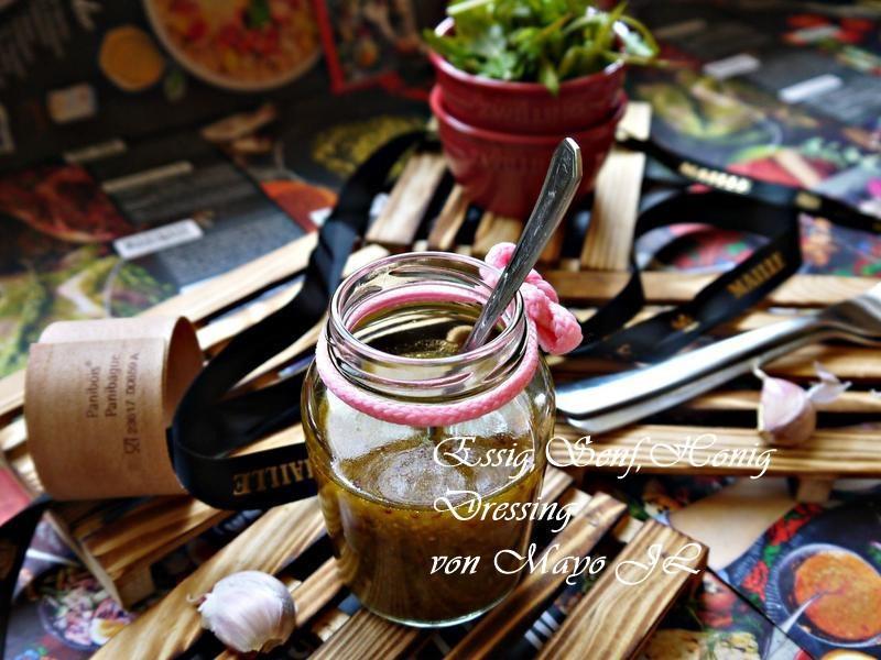 酸味芥苿蜂蜜沙拉淋醬