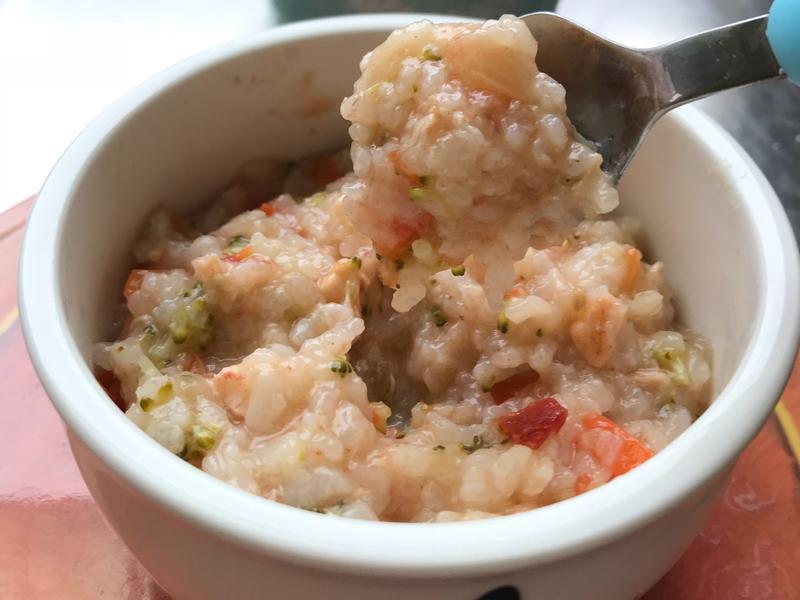 寶寶副食品-鮮蔬鮭魚燉飯
