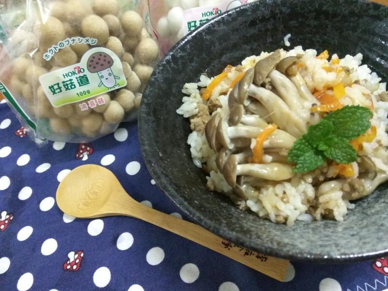 鮮菇肉燥飯【好菇道好食光】