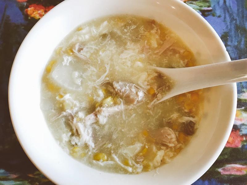 蘿蔔雞絲濃湯
