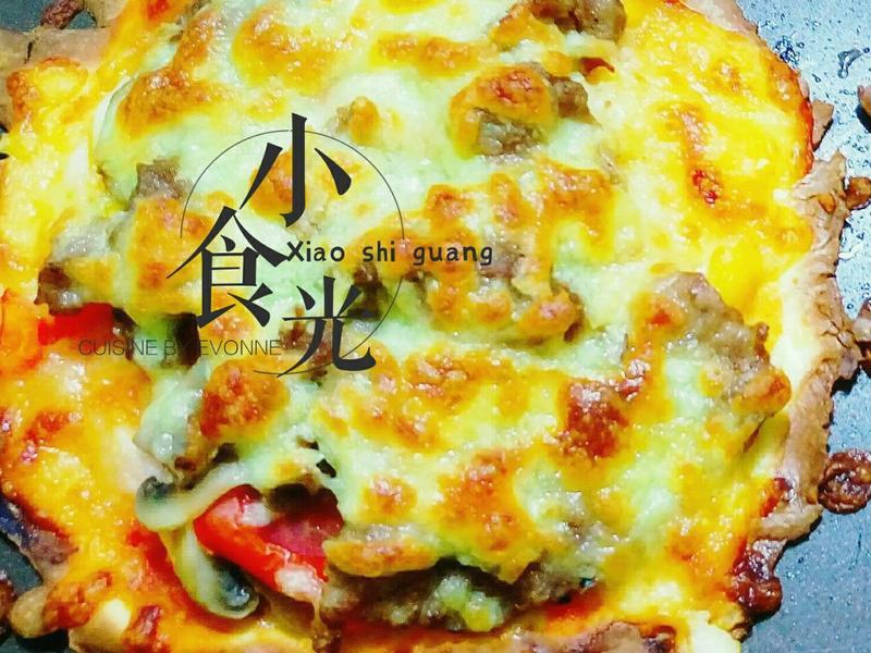薄片米披薩 (無麩質點心)