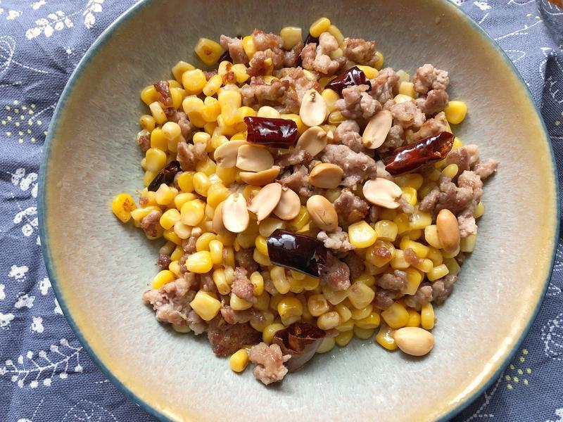 便當菜之大人版炒玉米