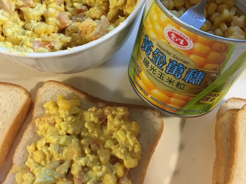 愛之味陽光玉米粒吐司