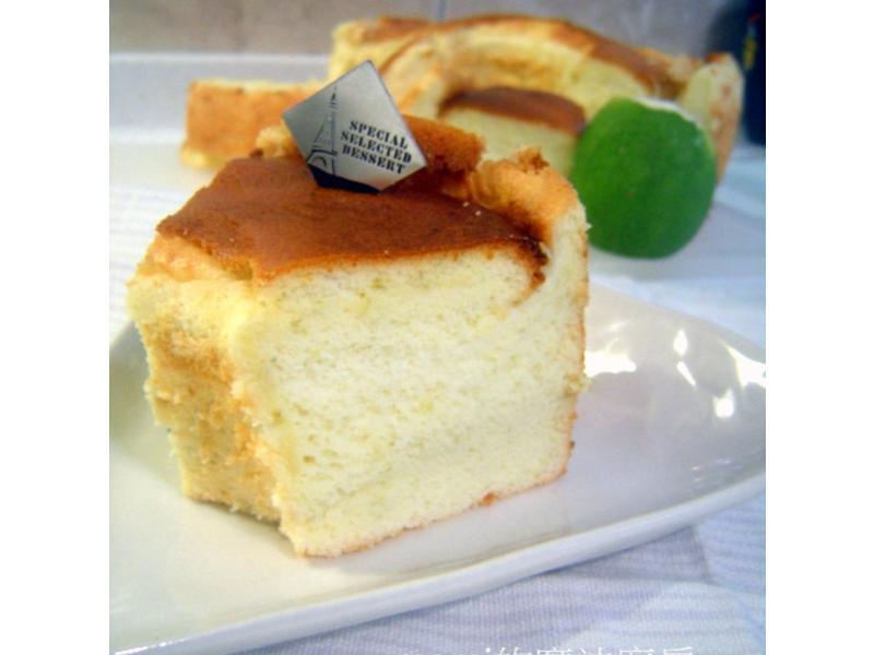 清香檸檬蛋糕 (減糖減油-燙麵法)