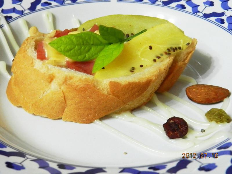 ㄚ曼達的廚房~小資女元氣充電~烤法國麵包