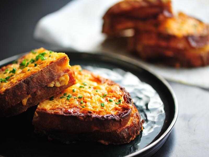法式起司(芝士)火腿三明治