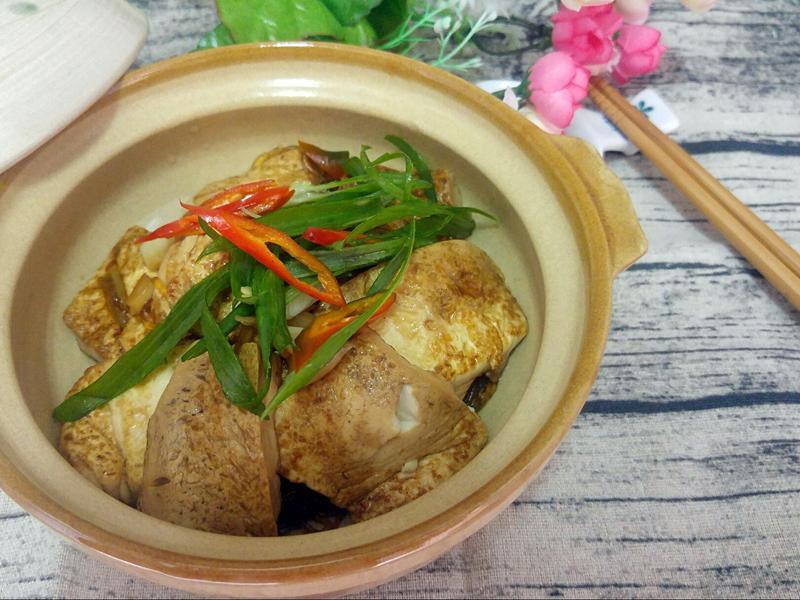 醬燒豆腐粉絲煲
