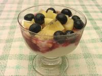 【小資女元氣充電】奇異果藍莓優格