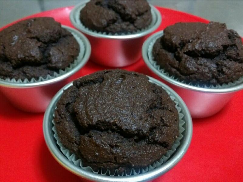 酮版美食~巧克力杯子蛋糕