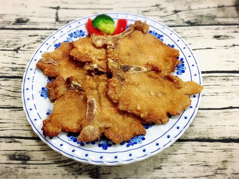 酥炸肉排 (水波爐料理)