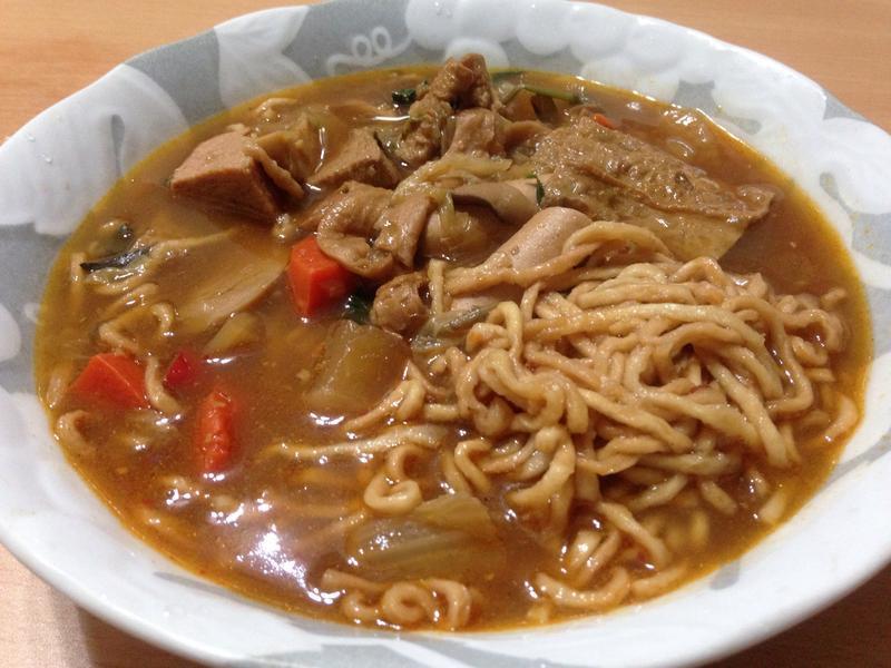 素食滷味part2 之紅燒麵