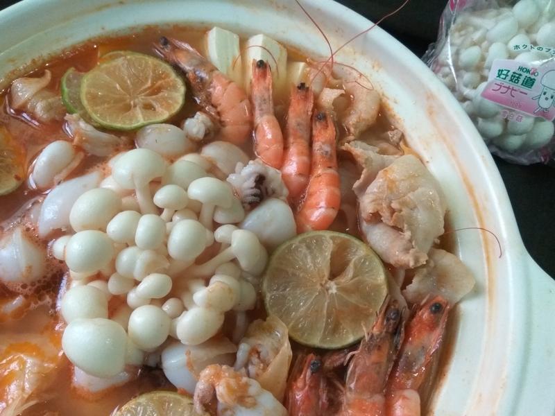 秋蝦海鮮鍋【好菇道好食光】