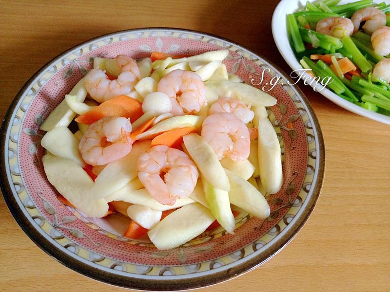 蝦仁炒茭白筍