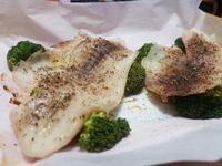 增肌減重菜單~奶香烤鯛魚片