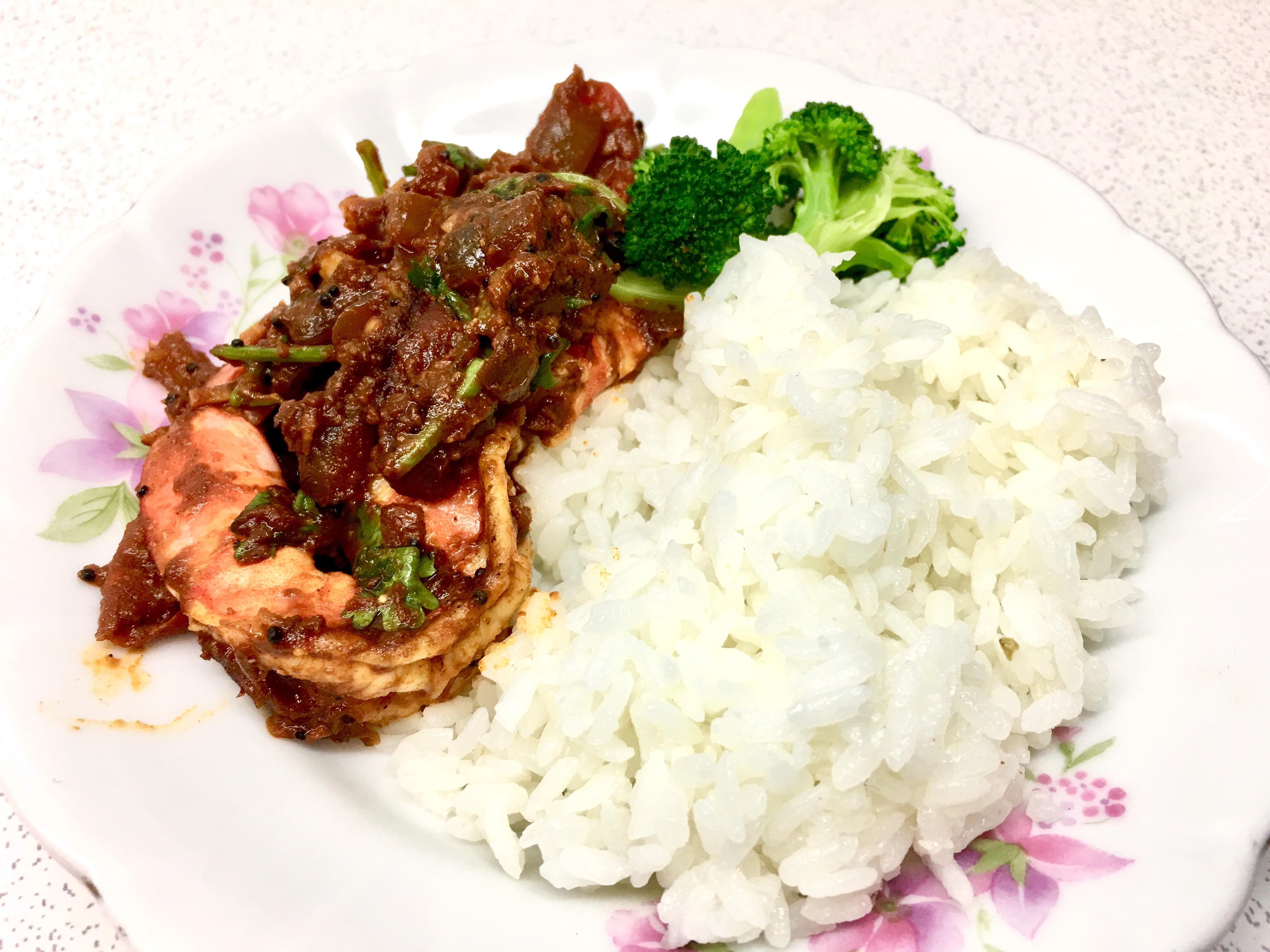 咖哩蝦《黑芥末籽1》