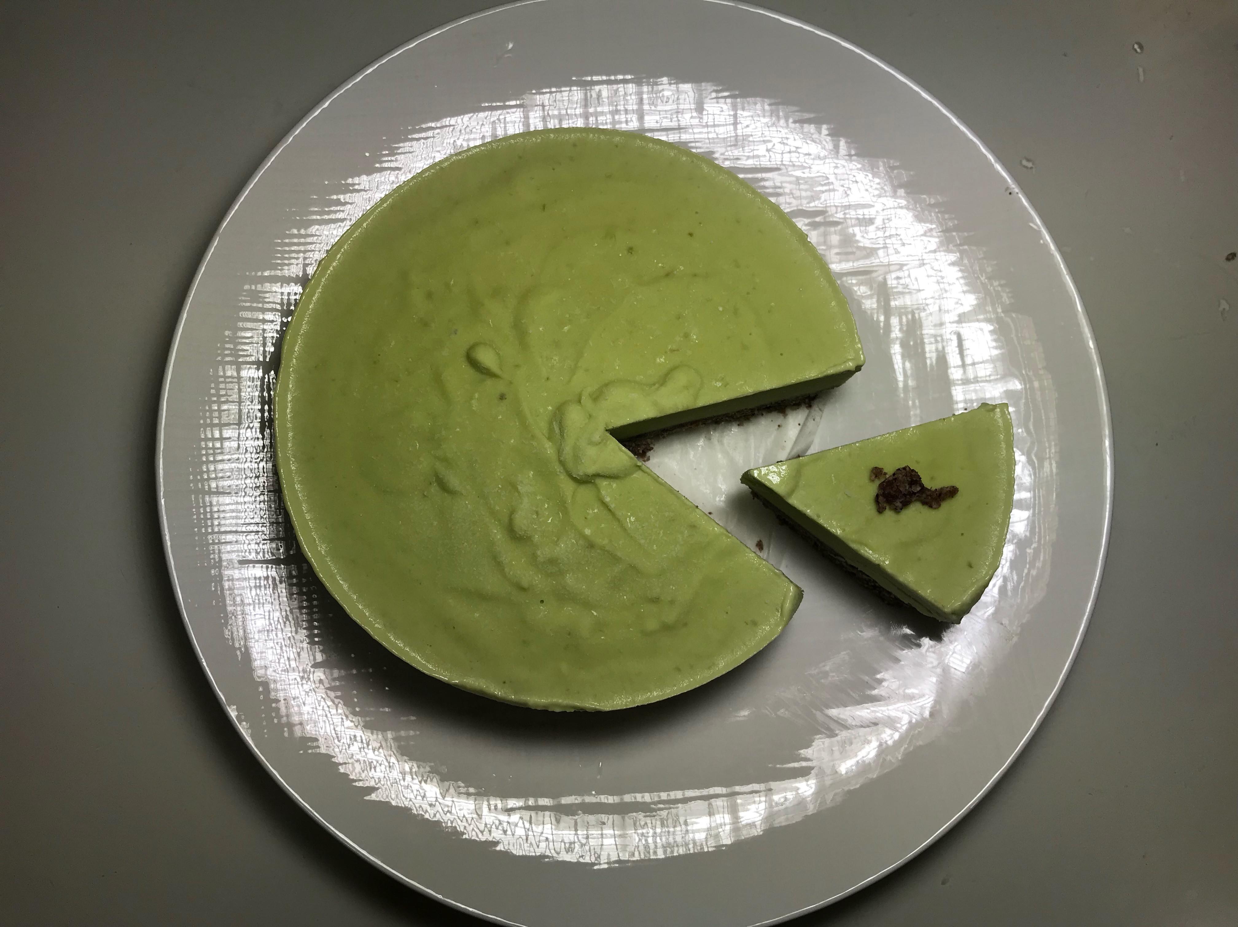 酪梨青檸起士蛋糕
