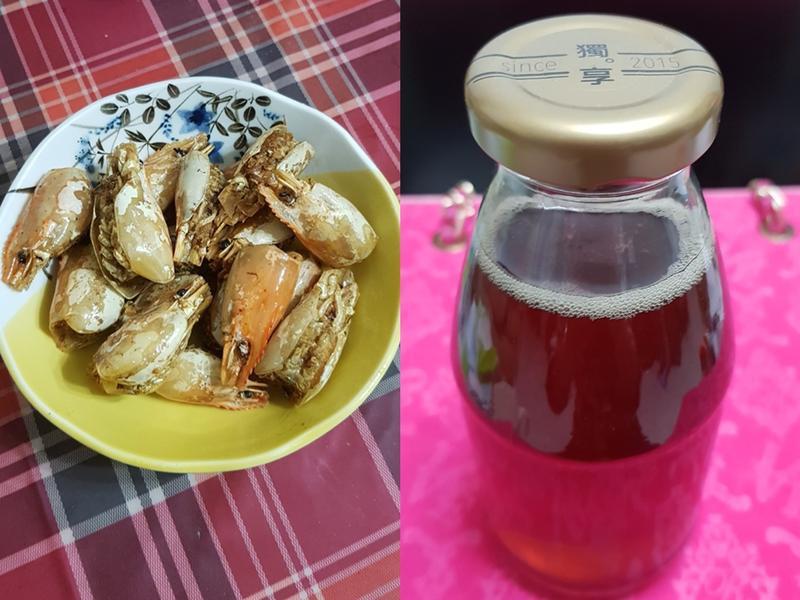 酥炸蝦頭&自製蝦油