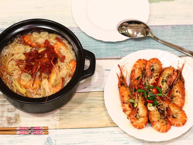 微醺蒸酒蝦  冬天一鍋、發熱溫補好食材